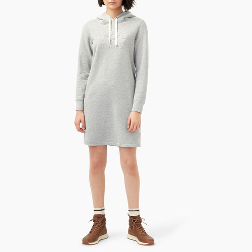Roots-Women Sweats-Red Deer Dress-Grey Mix-A