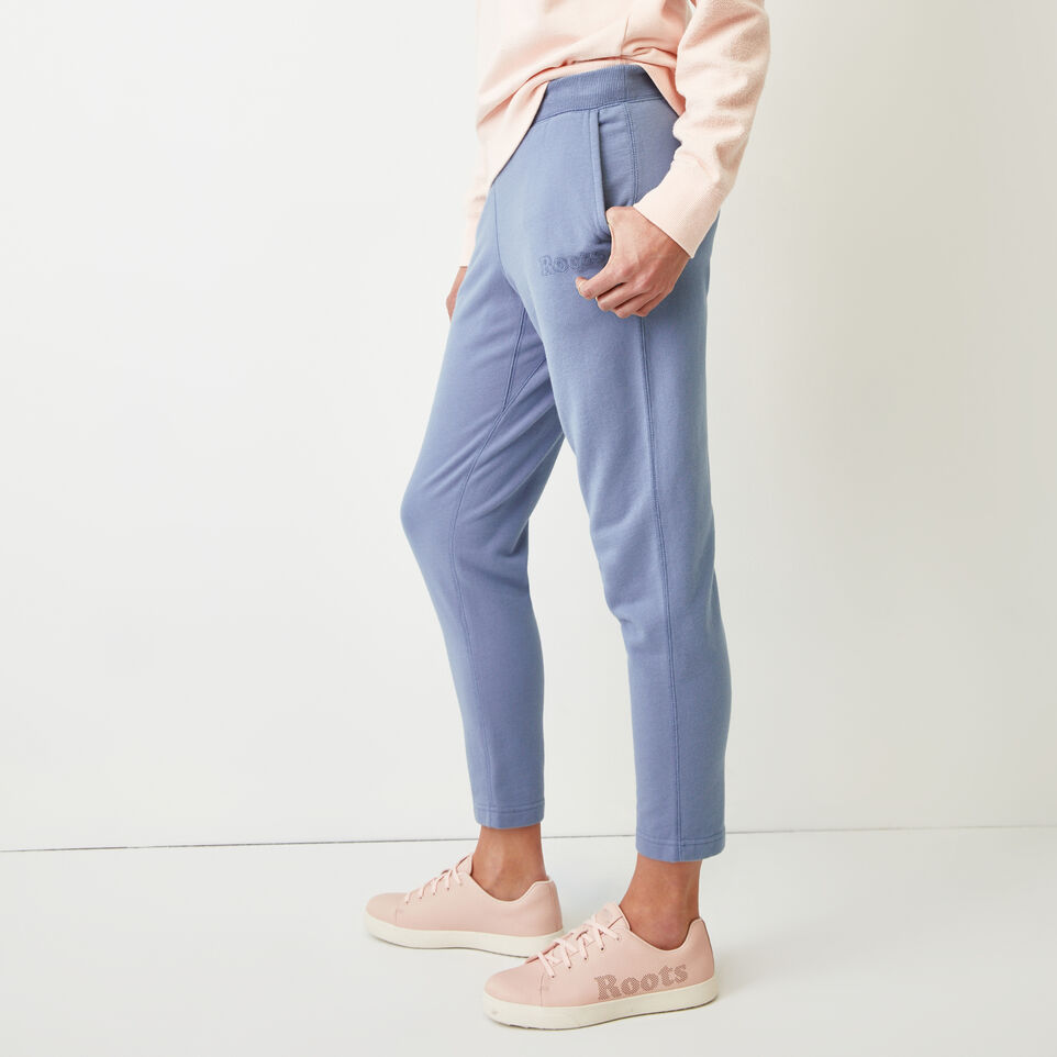 Roots-Women Our Favourite New Arrivals-Weymouth Sweatpant-Stone Blue-C