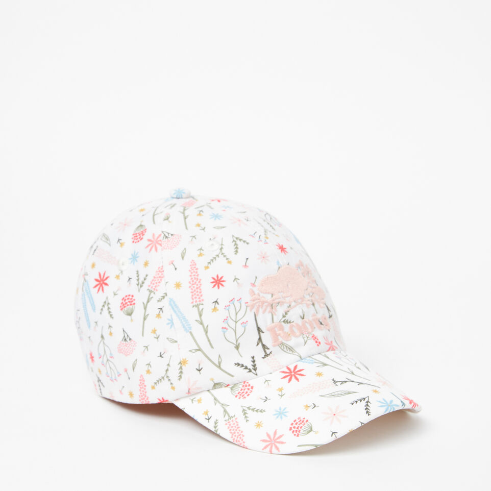 Roots-undefined-Toddler Cooper Floral Baseball Cap-undefined-A