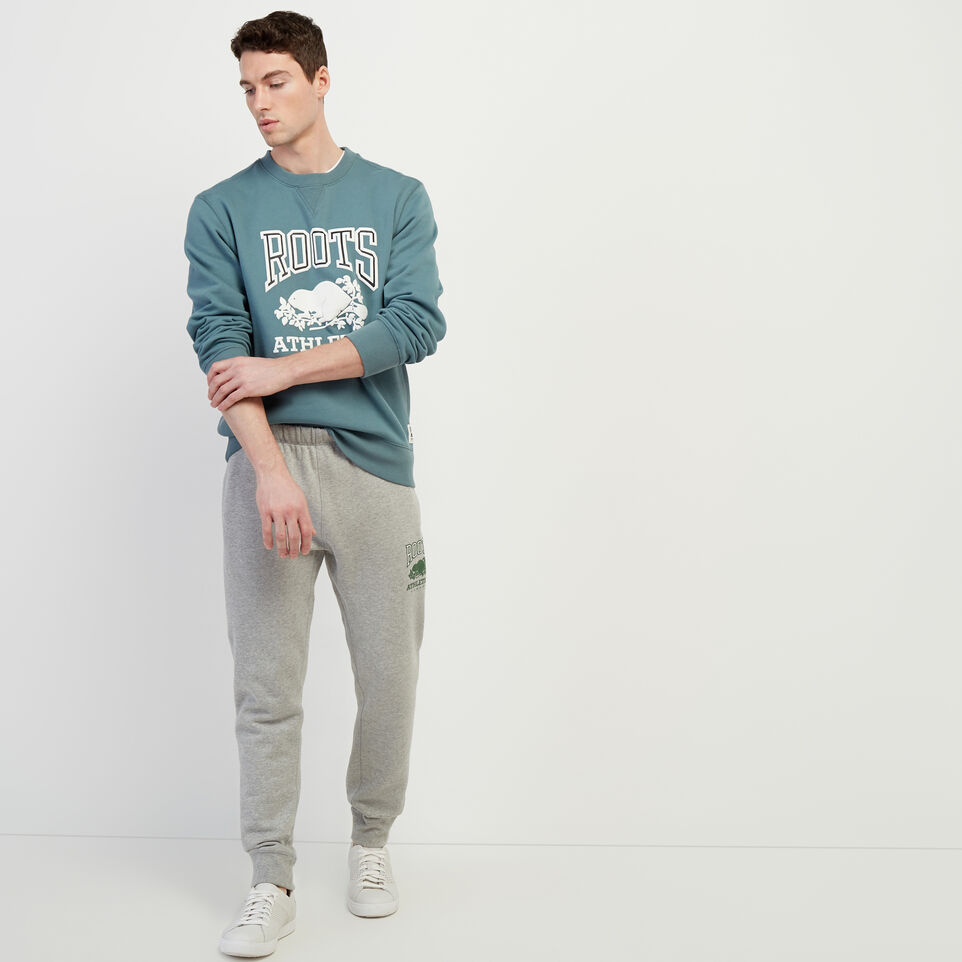 Roots-New For March Rba Collection-RBA Park Slim Sweatpant-Grey Mix-B