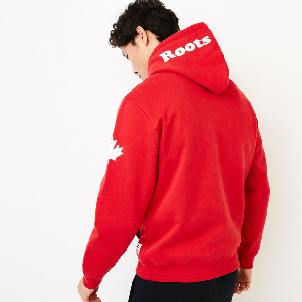 Roots-Gift Guide Canada Collection By Roots™-Mens Cooper Canada Hoody-Sage Red-D