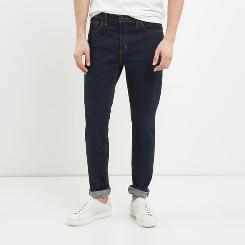 Roots-Winter Sale Bottoms-Whitehorse Jean-Dark Indigo-A