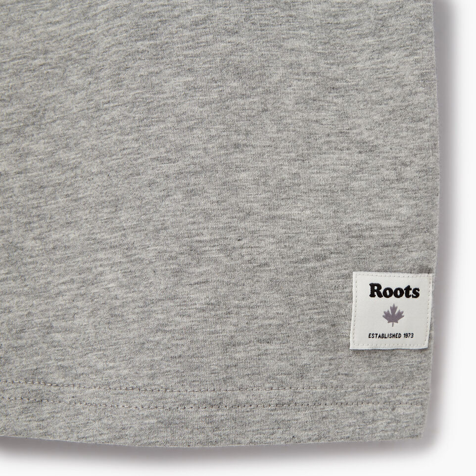Roots-Kids Tops-Toddler Arch Roots T-shirt-Grey Mix-C
