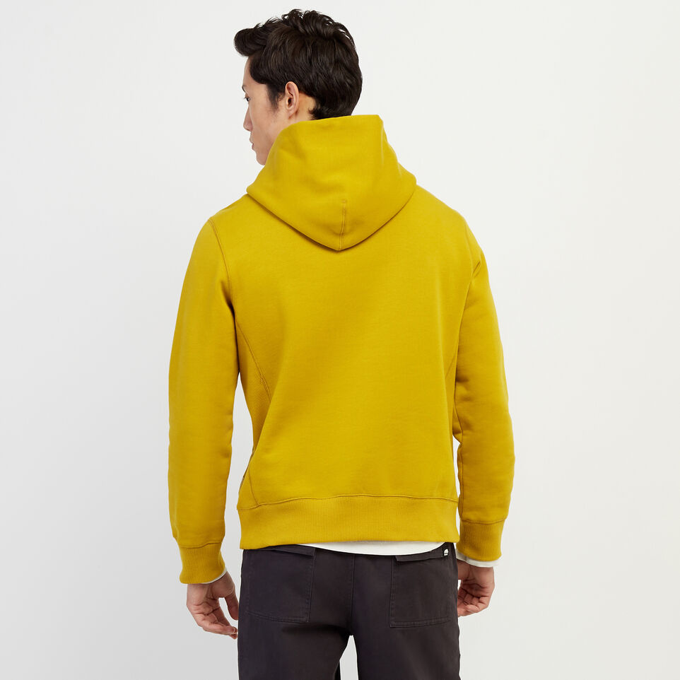 Roots-Men Our Favourite New Arrivals-RBA Kanga Hoody-Amber Green-D