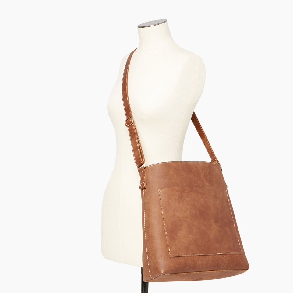 Roots-Leather Handbags-Rideau Bag-Natural-B