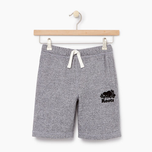 Roots-Kids Categories-Boys Original Short-Salt & Pepper-A