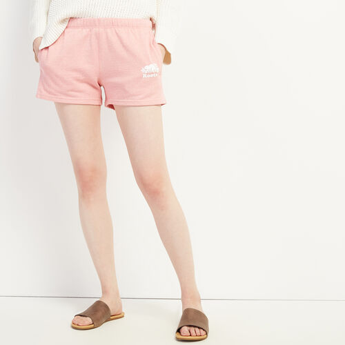 Roots-Women Shorts & Skirts-Original Sweatshort-Sunset Apricot Ppr-A