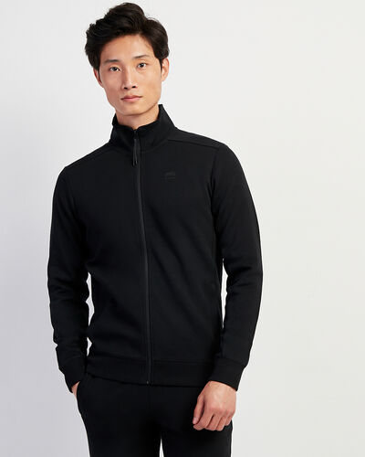 Roots-Men Sweatshirts & Hoodies-Journey Track Jacket-Black-A