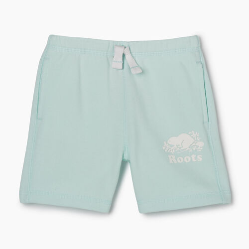 Roots-Sale Toddler-Toddler Original Roots Short-Bleached Aqua-A