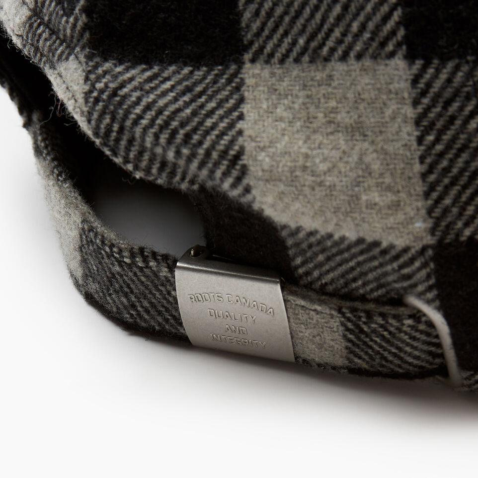 Roots-New For December Today Only: 40% Off Park Plaid Collection-Park Plaid Leaf Baseball Cap-Grey Mix-E