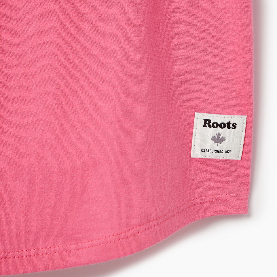 Roots-Kids Our Favourite New Arrivals-Girls Camp T-shirt-Azalea Pink-C