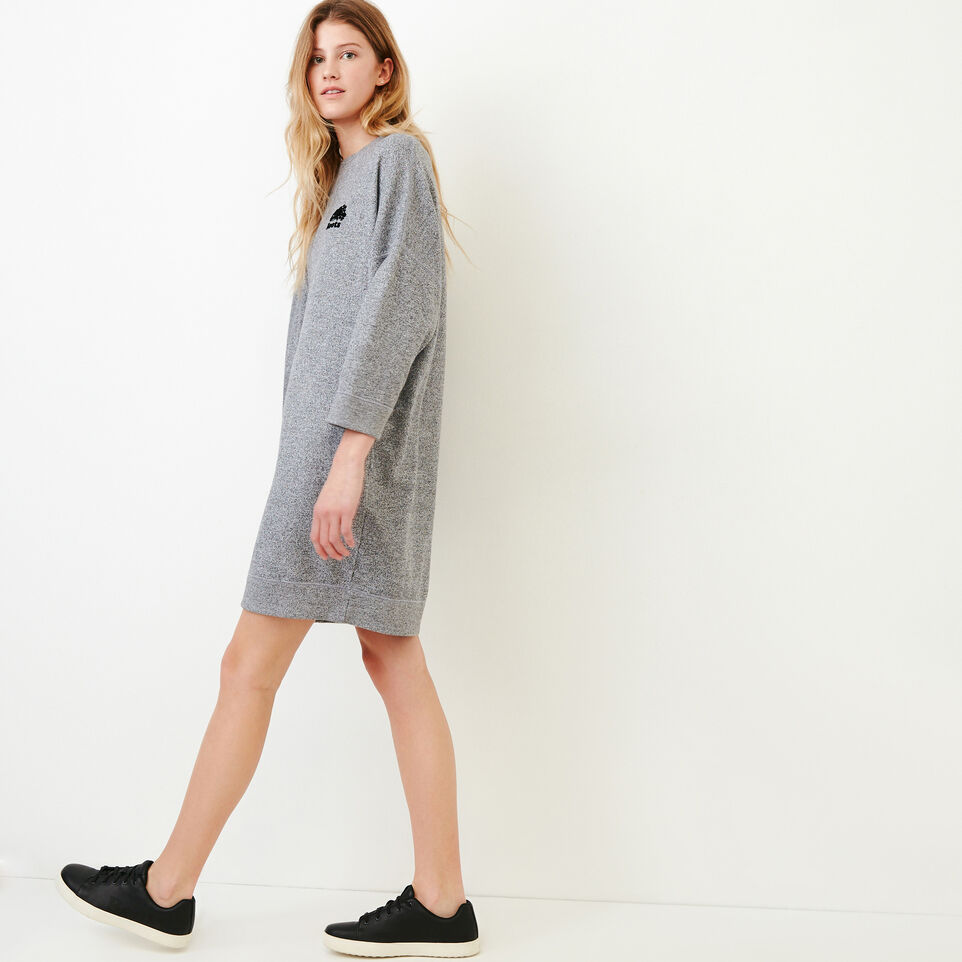 Roots-undefined-Roots Salt and Pepper Oversized Dress-undefined-C