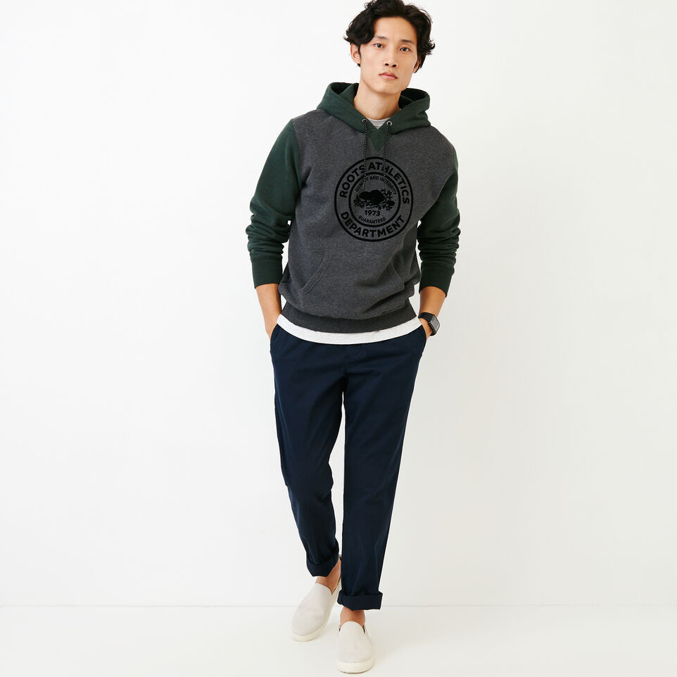 Roots-Men Our Favourite New Arrivals-Athletic Dept. Hoody-Charcoal Mix-B