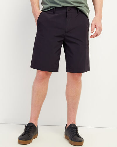 Roots-Men Clothing-Journey Tech Short 9.5 In-Slate-A