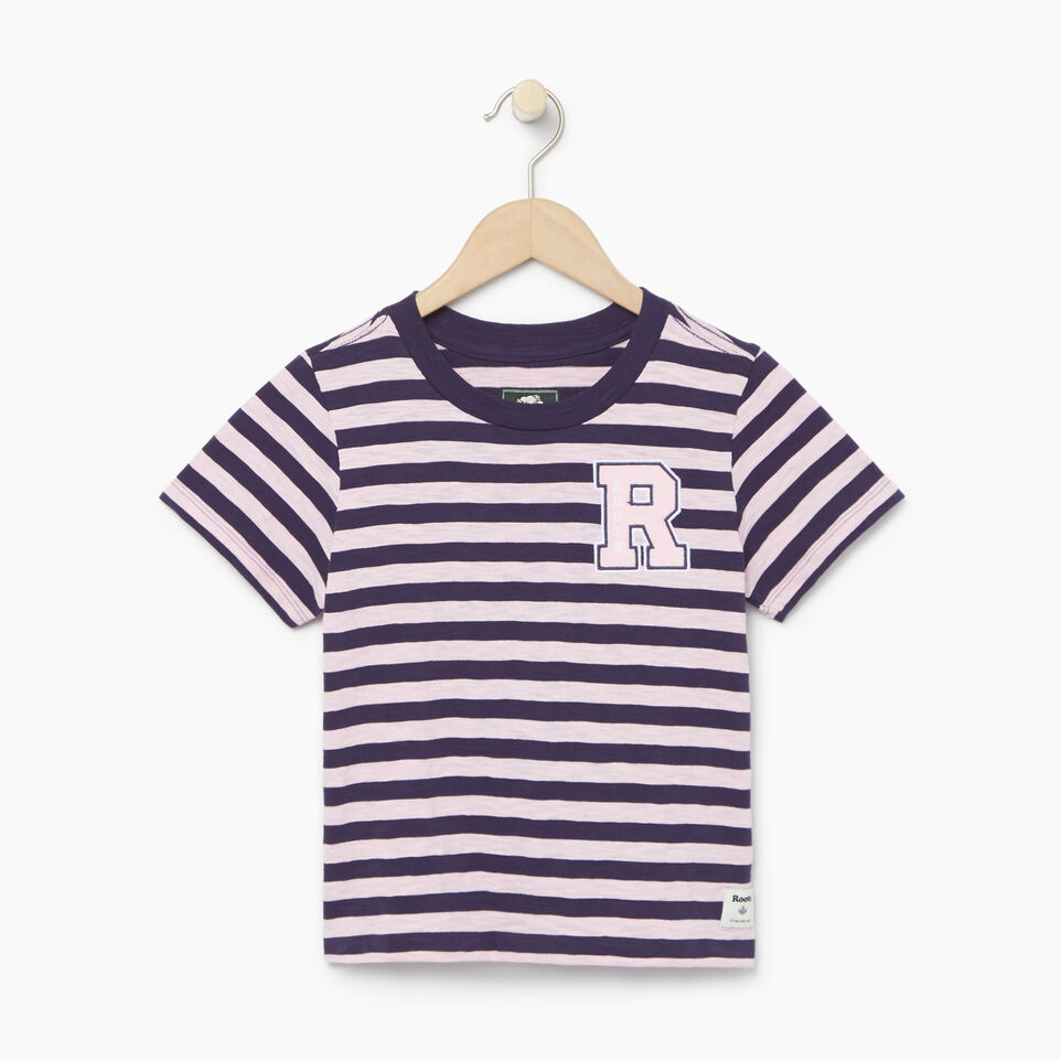Roots-Kids Categories-Girls Alumni Boxy Top-Eclipse-A