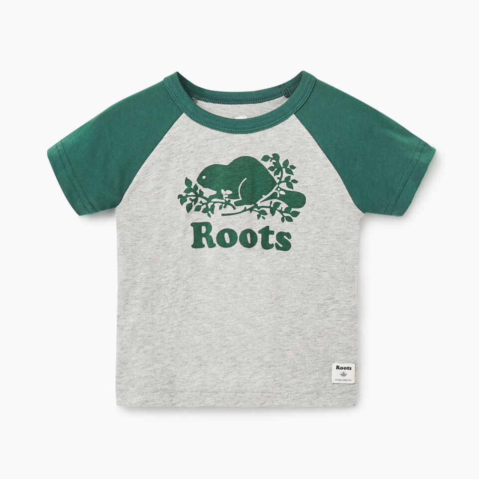 Roots-undefined-Baby Cooper Beaver Raglan T-shirt-undefined-A