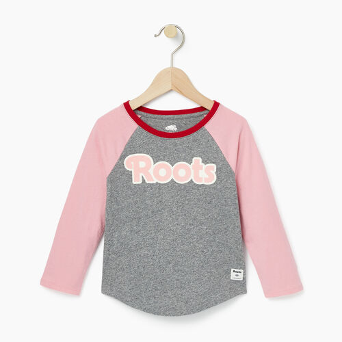 Roots-Winter Sale Toddler-Toddler Roots Raglan Top-Sea Pink-A