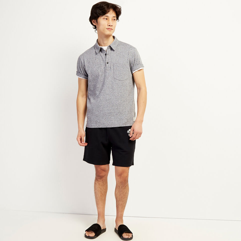 Roots-undefined-Jersey Peppered Polo-undefined-B