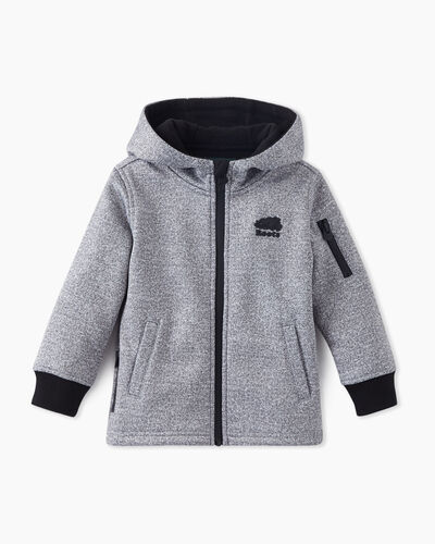 Roots-Sale Toddler-Toddler Logan Bonded Zip Hoody-Salt & Pepper-A