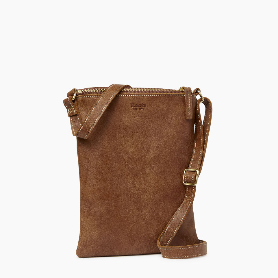 Roots-Leather  Handcrafted By Us Our Favourite New Arrivals-Riverdale Flat-Natural-C