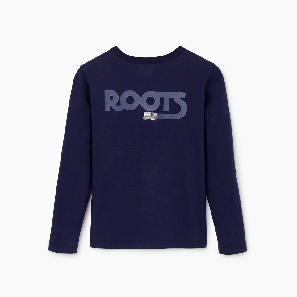 Roots-undefined-Boys Roots Rink T-shirt-undefined-B