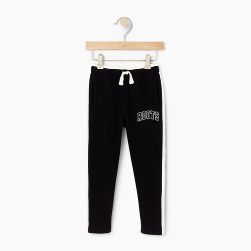 Roots-Kids Bottoms-Toddler 2.0 Jogger-Black-A