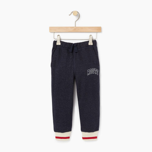 Roots-New For December Kids-Toddler Roots Cabin Sweatpant-Navy Blazer Pepper-A