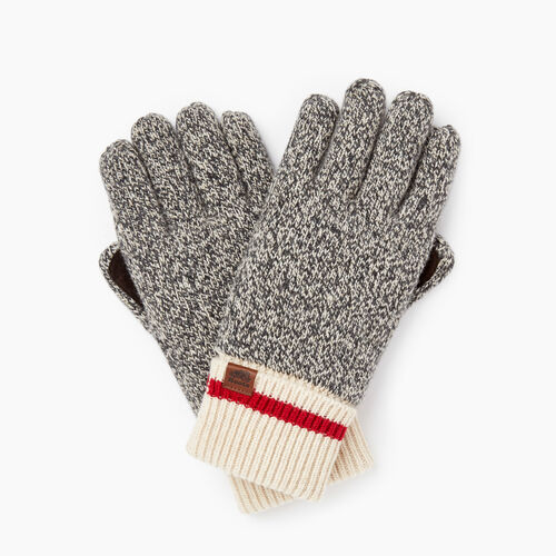 Roots-Gifts Cabin Comfort-Roots Cabin Glove-Grey Oat Mix-A