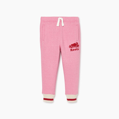 Roots-Kids Our Favourite New Arrivals-Toddler Roots Cabin Cozy Sweatpant-Cashmere Rose Pepper-A