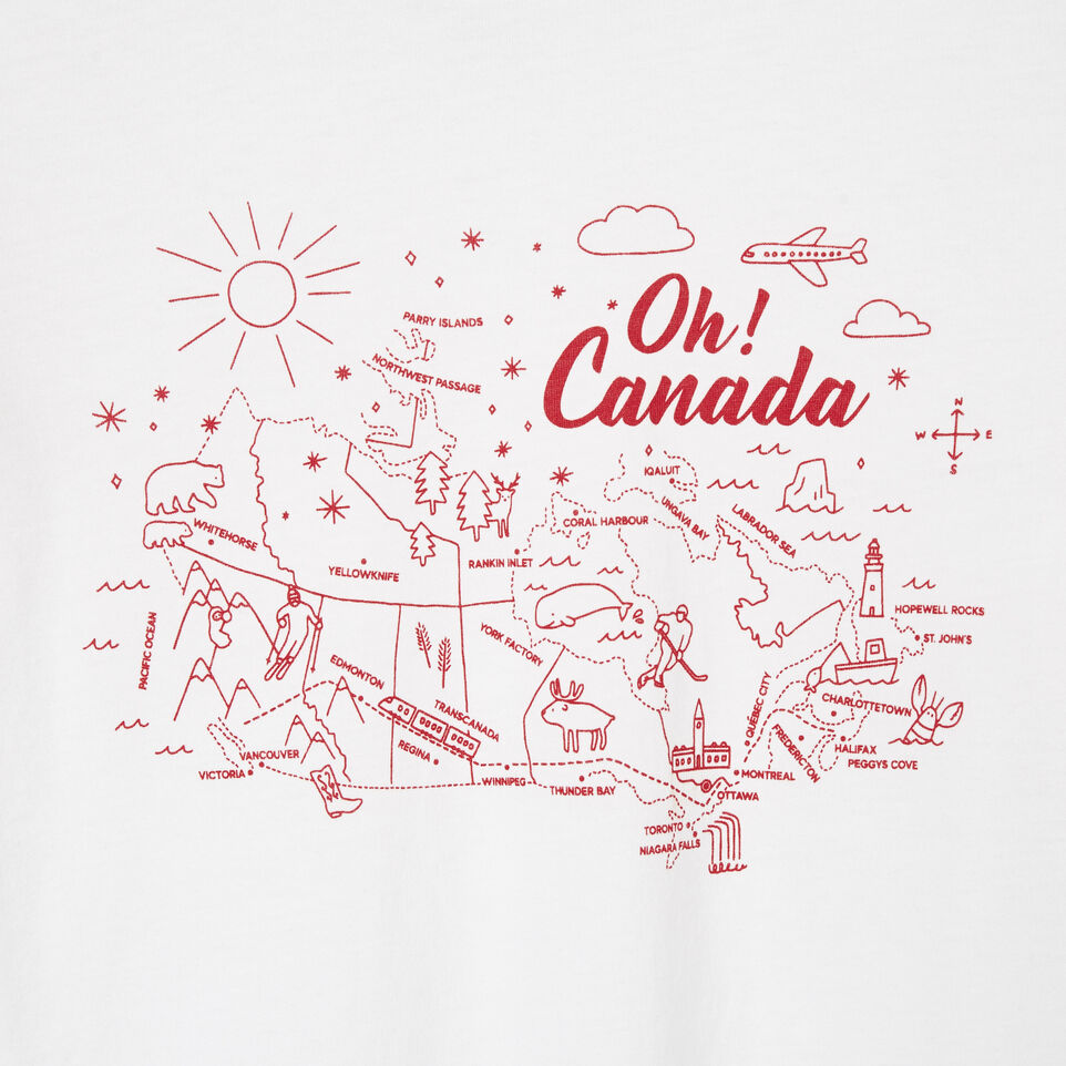 Roots-undefined-Girls Oh! Canada T-shirt-undefined-C