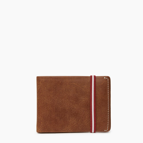 Roots-Leather Women's Wallets-Kensington Wallet-Natural-A