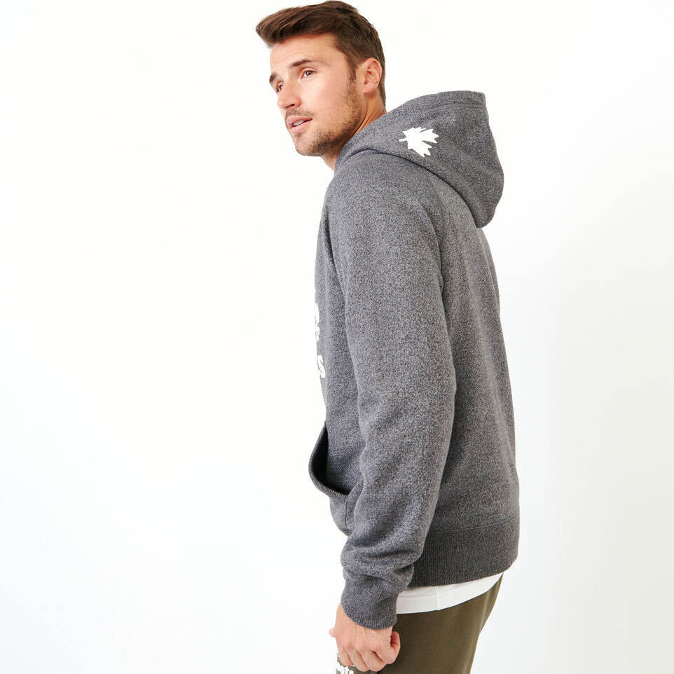 Roots-Men Our Favourite New Arrivals-Original Kanga Hoody-Charcoal Pepper-C