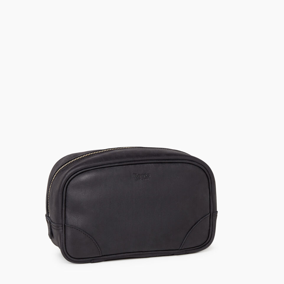 Roots-Leather  Handcrafted By Us Our Favourite New Arrivals-Jasper Dopp Kit-Jet Black-B