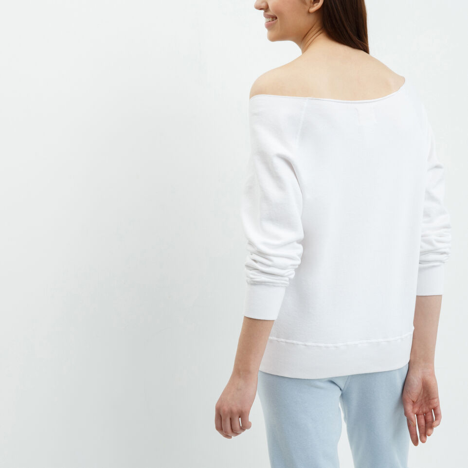 Roots-undefined-Womens Blue Jays Wide Neck Crew-undefined-D