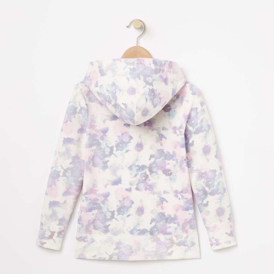 Roots-undefined-Girls Watercolour Kanga Hoody-undefined-B