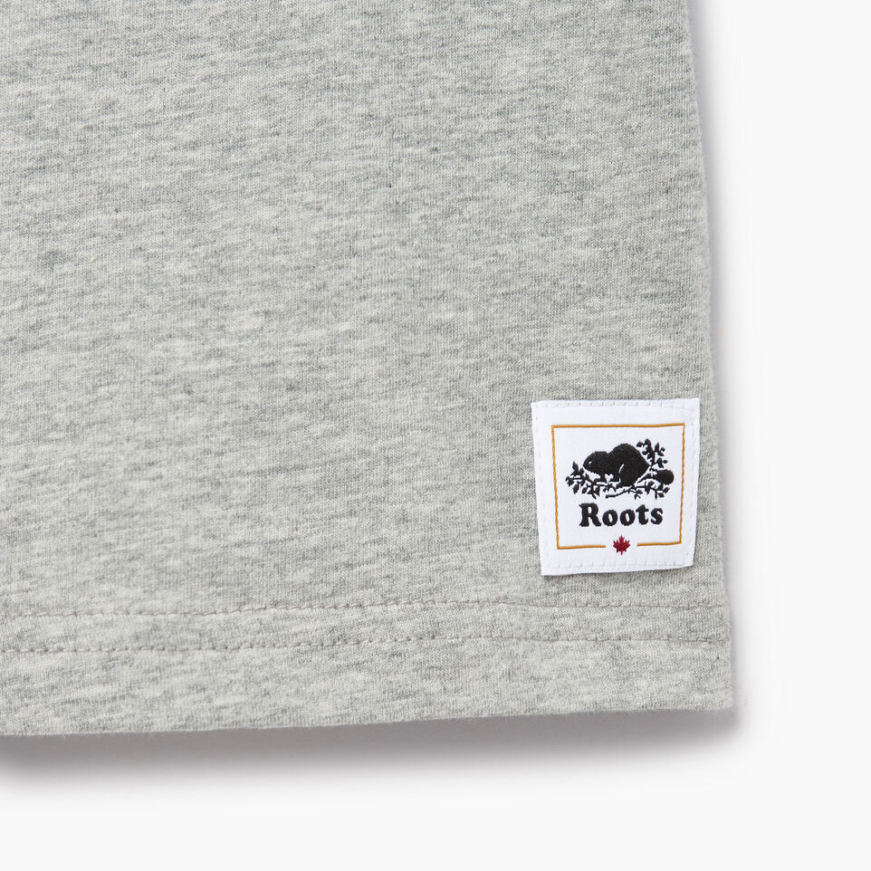 Roots-Kids Our Favourite New Arrivals-Toddler Canadian Boy T-shirt-Grey Mix-C