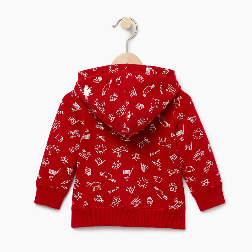 Roots-undefined-Baby Canada Aop Full Zip Hoody-undefined-B