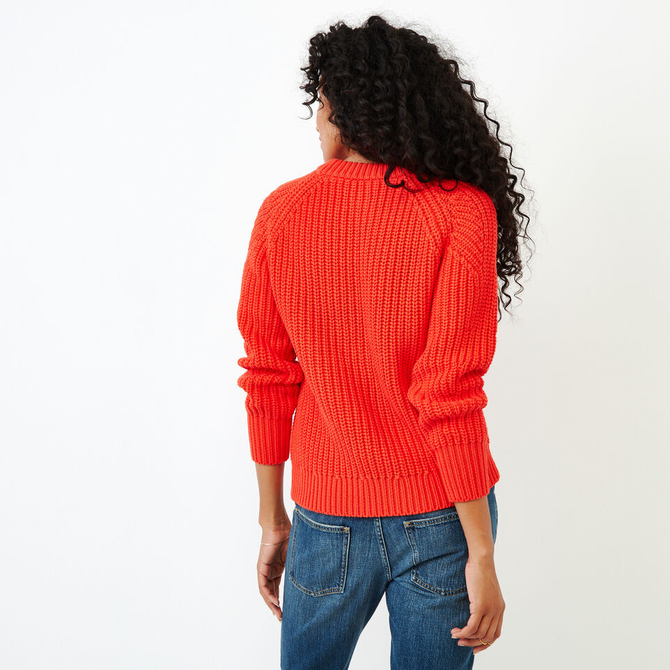 Roots-Women Sweaters & Cardigans-Ramore Sweater-Spicy Orange-D