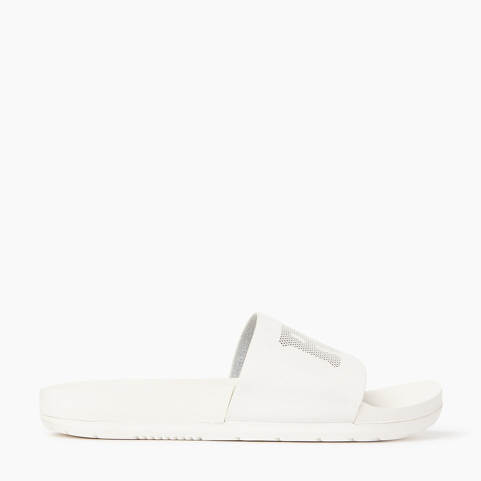 Roots-Footwear Our Favourite New Arrivals-Womens Long Beach Pool Slide-Pearl-A