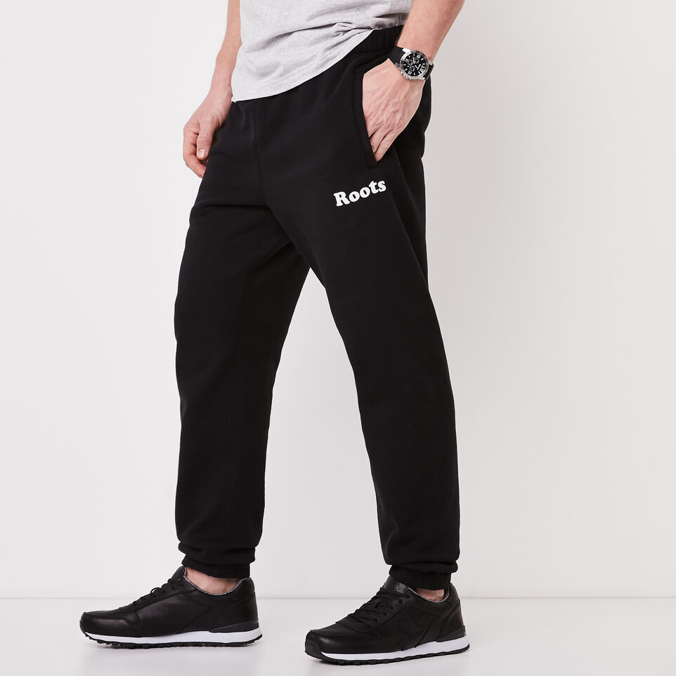 Roots-undefined-Original Wordmark Sweatpant-undefined-A