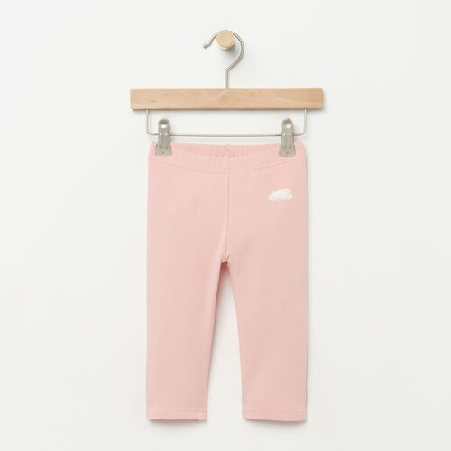 Roots-Kids Bottoms-Toddler Capri Legging-Blossom Pink-A
