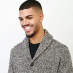 Roots-Men Sweaters & Cardigans-Roots Cotton Cabin Cardigan-Speckle-E