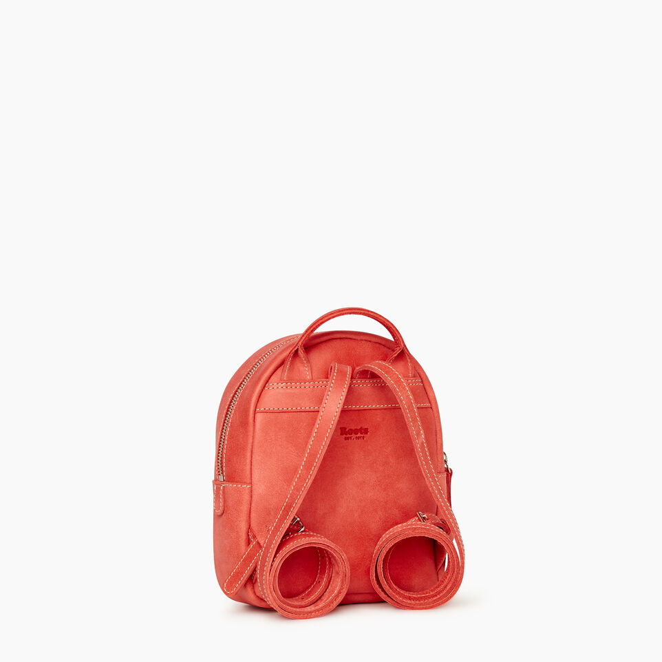 Roots-Leather New Arrivals-City Chelsea Pack-Coral-C