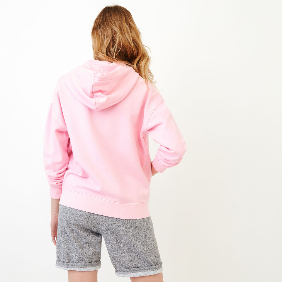 Roots-Women Our Favourite New Arrivals-Kelowna Full Zip Hoody-Pink Mist-D