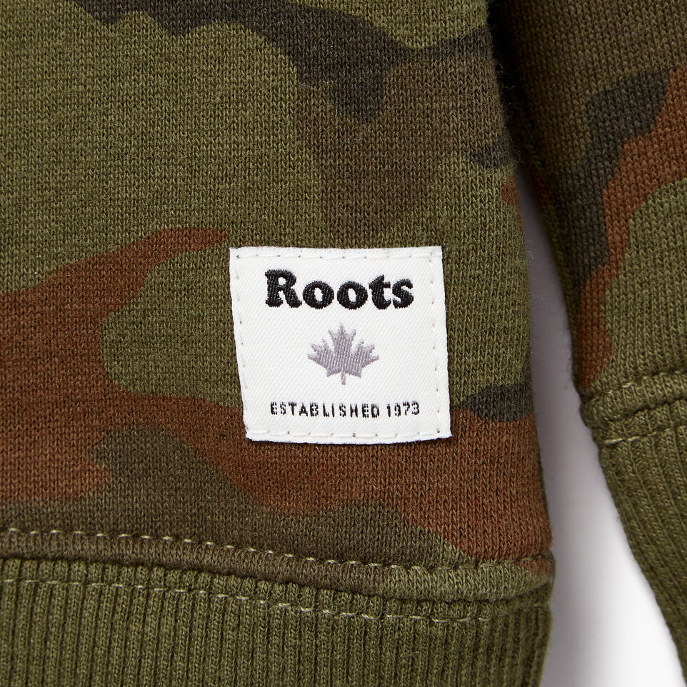 Roots-Kids Our Favourite New Arrivals-Toddler Camo Sweatshirt-Winter Moss Green-C