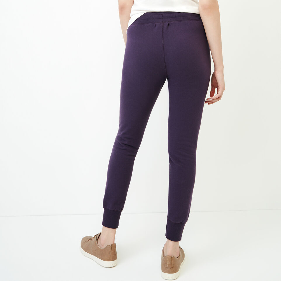 Roots-Women Categories-Stamps Slim Sweatpant-Night Shade-D