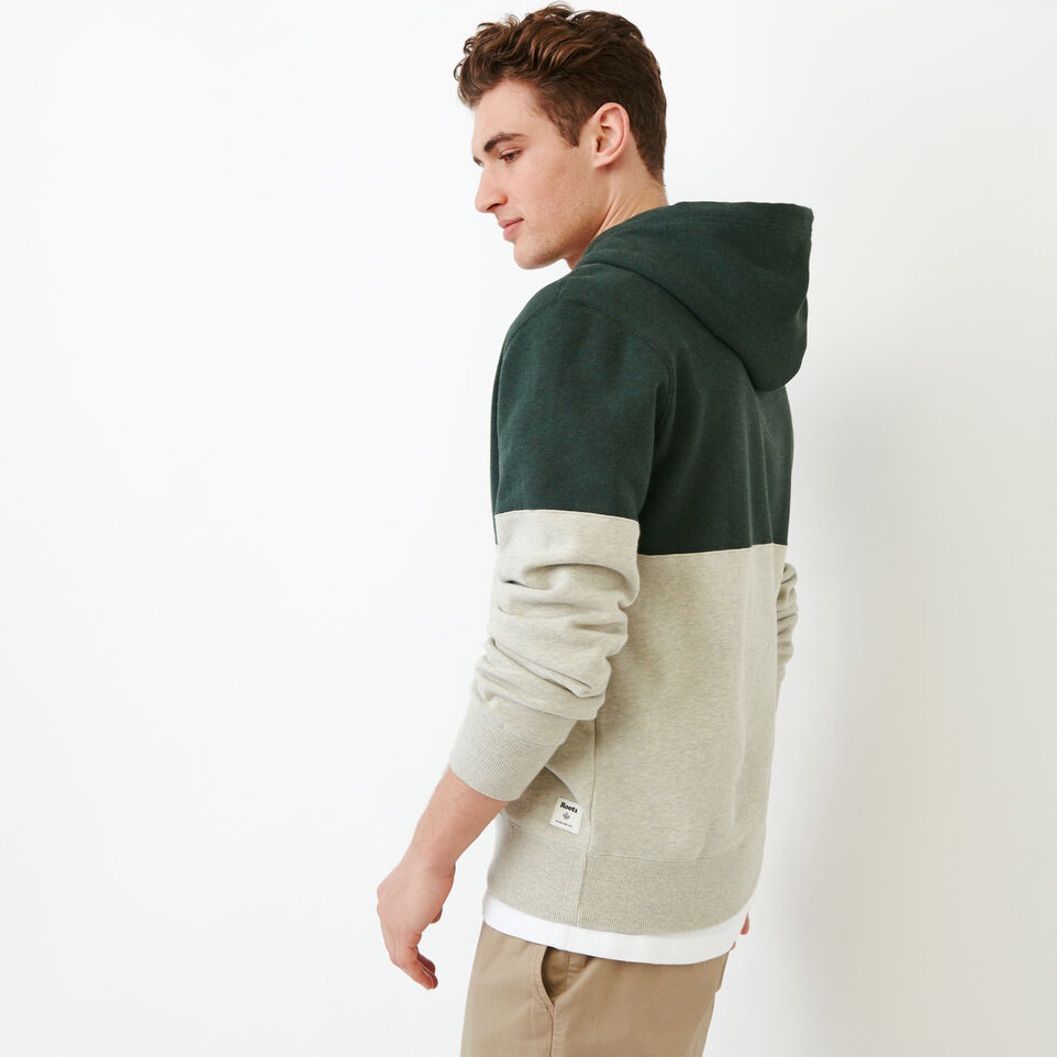 Roots-Men Our Favourite New Arrivals-Athletic Dept. Zip Hoody-Spray Green Mix-C