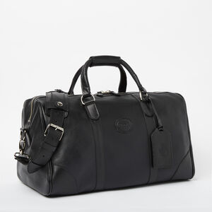 Roots-Leather Weekender Bags-Small Banff Bag Prince-Black-A