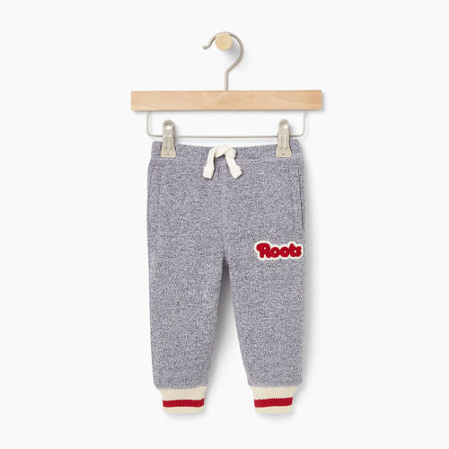 Roots-Kids Bestsellers-Baby Cabin Sweatpant-Salt & Pepper-A