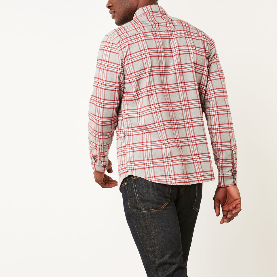 Roots-undefined-Heritage Flannel Shirt-undefined-E